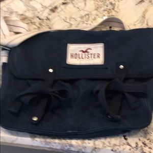 Hollister messenger bag